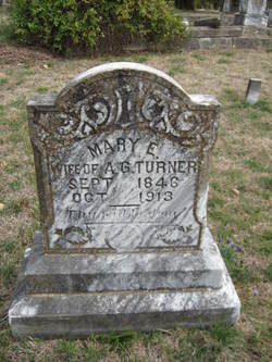 Mary Eliza <i>Graves</i> Turner