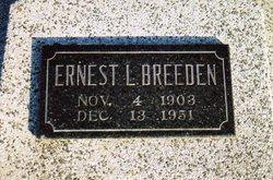 Ernest L Breeden