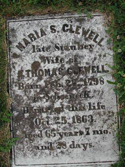 Maria Susanna <i>Stauber</i> Clewell
