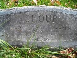 Mary May <i>Holland</i> Shoup