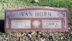 Cecil V <i>Smith</i> Van Horn