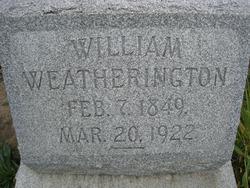 William Weatherington, Sr