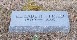 Elizabeth <i>Cutsinger</i> Fried