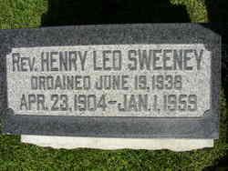 Rev Henry Leo Sweeney