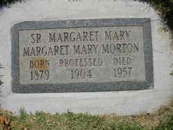 Sr Margaret Mary (Margaret Mary) Morton