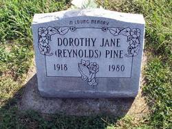 Dorothy Jane <i>Reynolds</i> Pine