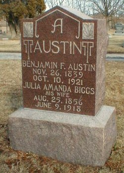 Julia Amanda <i>Biggs</i> Austin