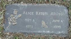 Alice Johnston <i>Kessel</i> Allison