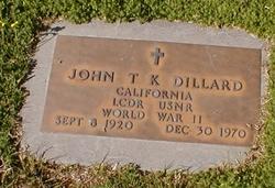 LCDR John T. K. Dillard