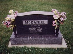 Roscoe Lewis McDaniel