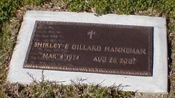 Shiley E. Dillard Hanneman