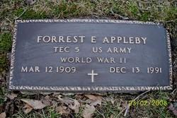 Forrest E Appleby