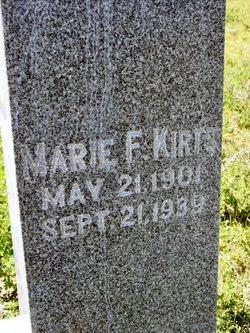 Marie F Kirts