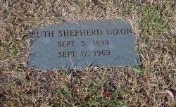 Ruth <i>Shepherd</i> Dixon