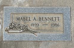 Mabel A. Bennett