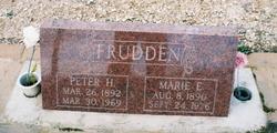 Marie E. <i>Wollensen</i> Frudden