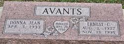 Ernest C Avants