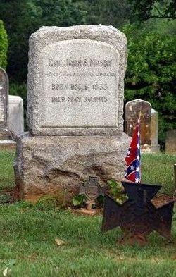 Col John Singleton Mosby