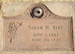 Sarah Hattie <i>Asher</i> Biby