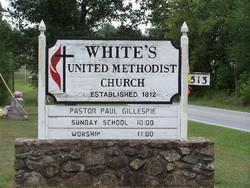 Whites United Methodist Church Cemetery