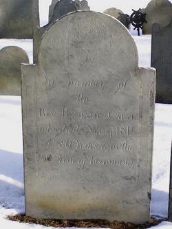 Rev Benjamin Caryl