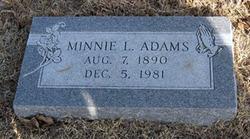 Minnie L. <i>Childs</i> Adams