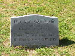 Lela Mae <i>Nash</i> Bundy