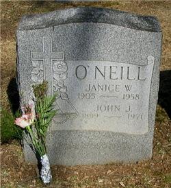 Janice <i>Warde</i> O'Neill