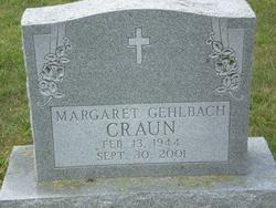 Margaret <i>Gehlbach</i> Craun