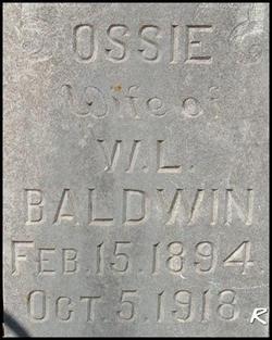 Ossie Baldwin