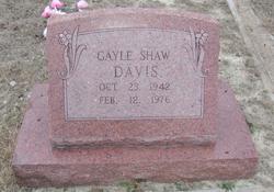 Jane Gayle <i>Shaw</i> Davis
