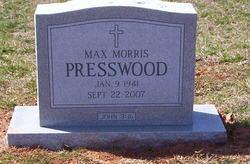 Max Morris Presswood