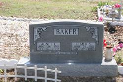 Agnes Earle <i>Carter</i> Baker