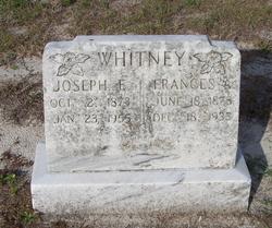 Joseph E Whitney