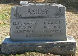 Eliza <i>Mackey</i> Bailey