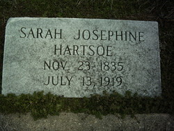 Sarah Josephine <i>Bumgarner</i> Hartsoe