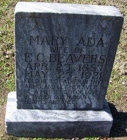 Mary Ada <i>Kizer</i> Bevers