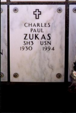 Charles Paul Bud Zukas