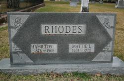 Mattie Loula <i>Blair</i> Rhodes
