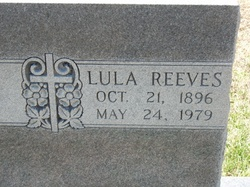 Lula Thacker <i>Reeves</i> Low