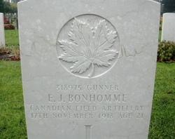 Gunner Edward Joseph Bonhomme