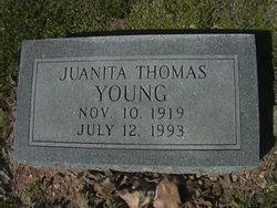 Juanita <i>Thomas</i> Young