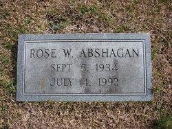 Rose W. Abshagan