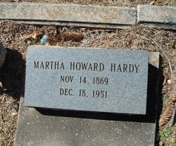 Martha (Mattie) <i>Howard</i> Hardy