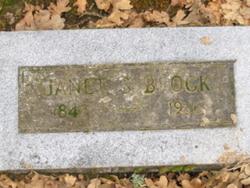 Janet Smilie <i>Warner</i> Brock