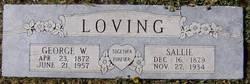 George W Loving