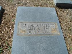 Maude D. Barrett
