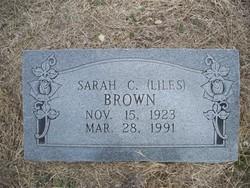 Sarah C. <i>Liles</i> Brown