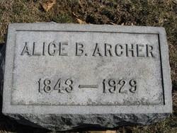 Alice Boisseau <i>Archer</i> Archer