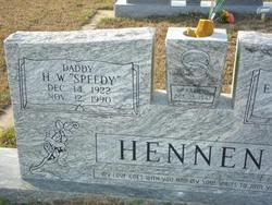 Howard W. Speedy Hennen